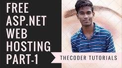 Free ASP.NET Web Hosting Full Tutorial In Hindi  Part 1