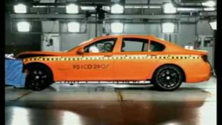 2009 New BMW 7-Series F01 F02  Crash test