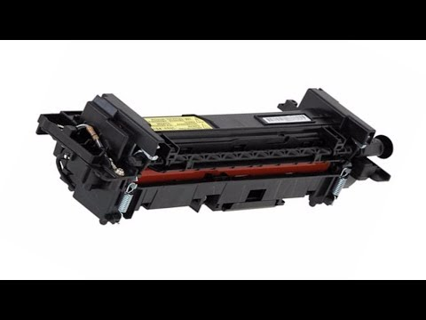 How to check a printer fuser unit