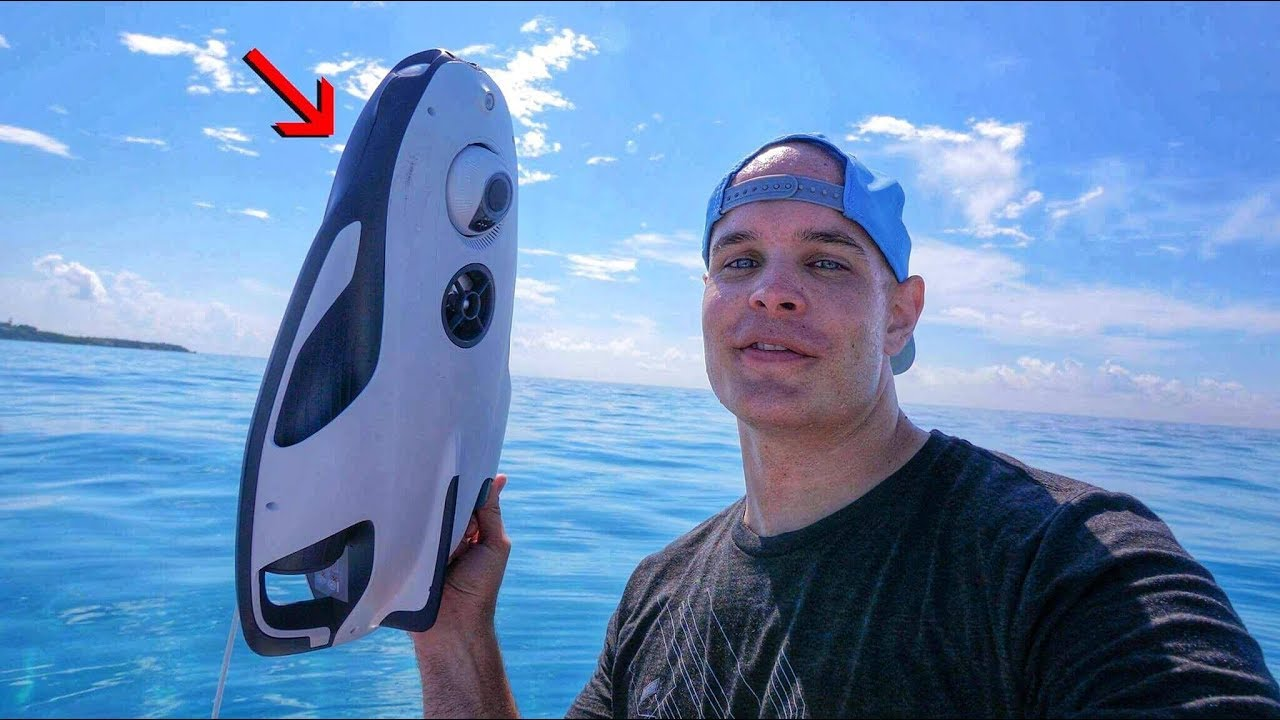 eb6bdd119de This Under Water Drone Conquers the Ocean... in 4K! - YouTube