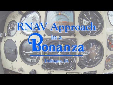 RNAV Approach at Dubuque