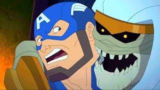 Марвел Мстители Секретные войны Серия 18 Сезон 4 По ту сторону
