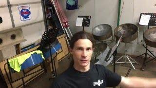 Potts & Pans Steelpan Solo - Matt Potts - Kevin Lyttle - Turn Me On