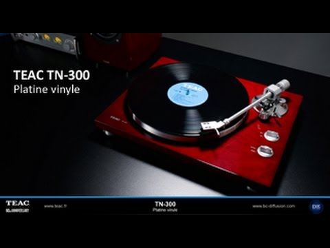 teac tn 300 platine vinyle installation youtube. Black Bedroom Furniture Sets. Home Design Ideas