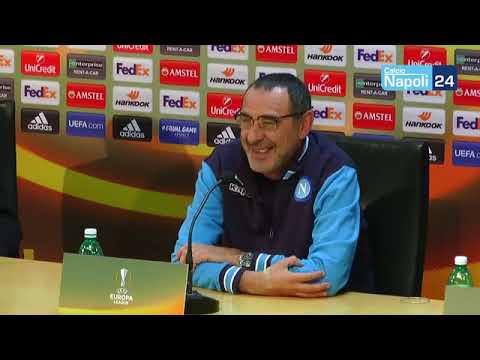 Europa League, Napoli-Lipsia: la conferenza stampa di Maurizio Sarri