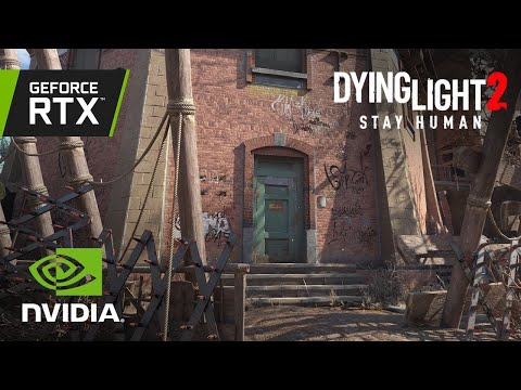 Dying Light 2 Stay Human | Official GeForce RTX 4K Reveal Trailer