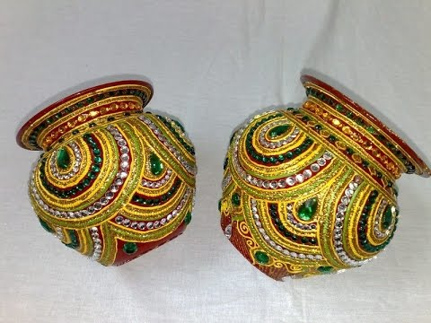 Pot Decorations YouTube Stunning Designs For Pots Decoration