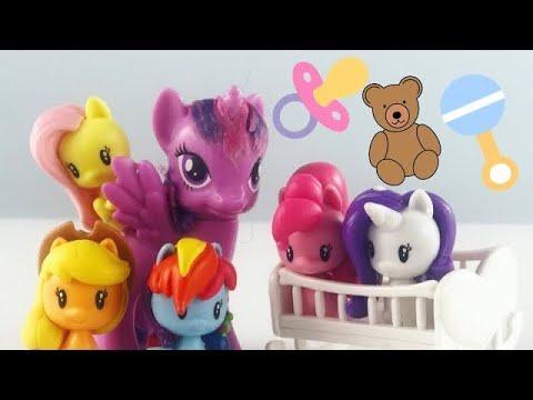 MLP - Twilight's friends become Baby Ponies!