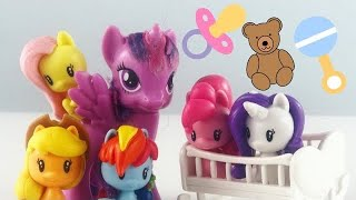"MLP - Twilight""s friends become Baby Ponies!"
