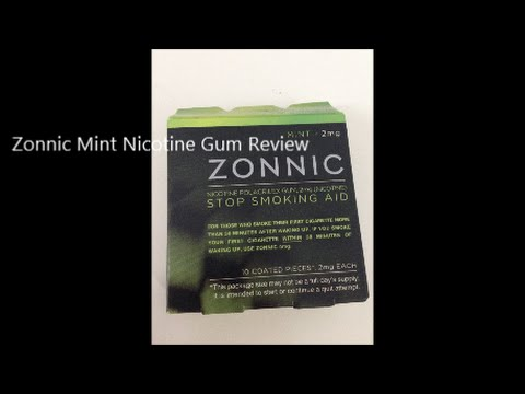 Zonnic Mint Nicotine Gum Review