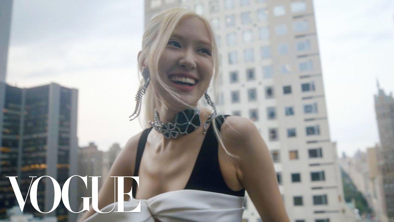 Download BLACKPINK's Rosé Gets Ready for the Met Gala | Vogue
