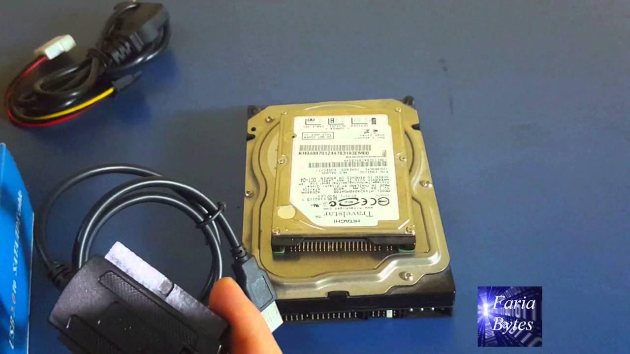Como Ligar Hd Ide Em Pc Sata Por Usb Youtube Notebook Interface Cdrom To External Drive Circuit Board 3