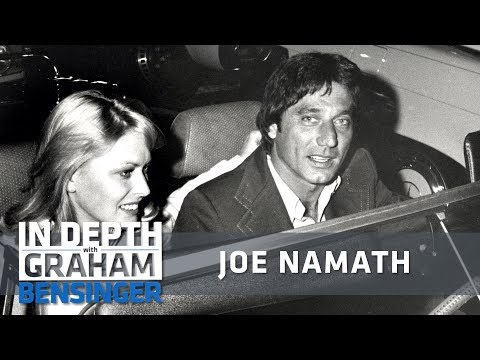 Joe Namath: My sex life