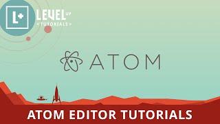 Atom editor tutorial
