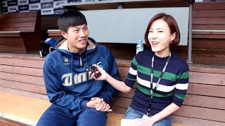 MBC경남 KBO리그중계  5.8일 사전인터뷰 정범모포…