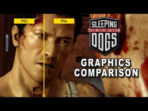 Sleeping Dogs Definitive Edition - Graphics Comparison