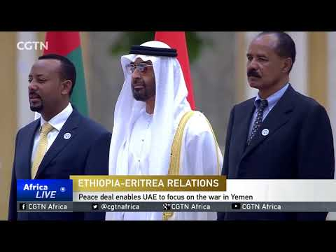 UAE honours Premier Abiy Ahmed and President Isaias Afwerki