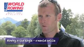 Mahe Drysdale (NZL) - Rowing in the single: a mental battle