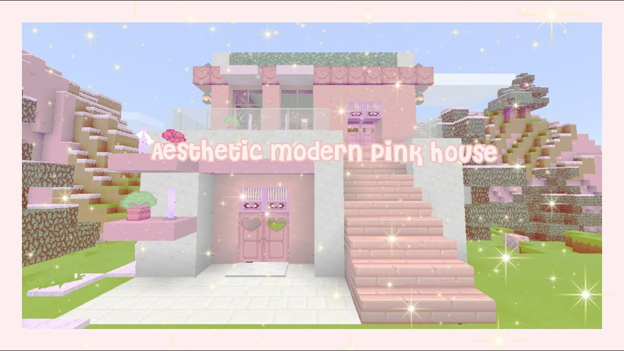 Minecraft Aesthetic Speedbuild 𝑀𝑜𝒹𝑒𝓇𝓃 𝒞𝓊𝓉𝑒 𝒫𝒾𝓃𝓀