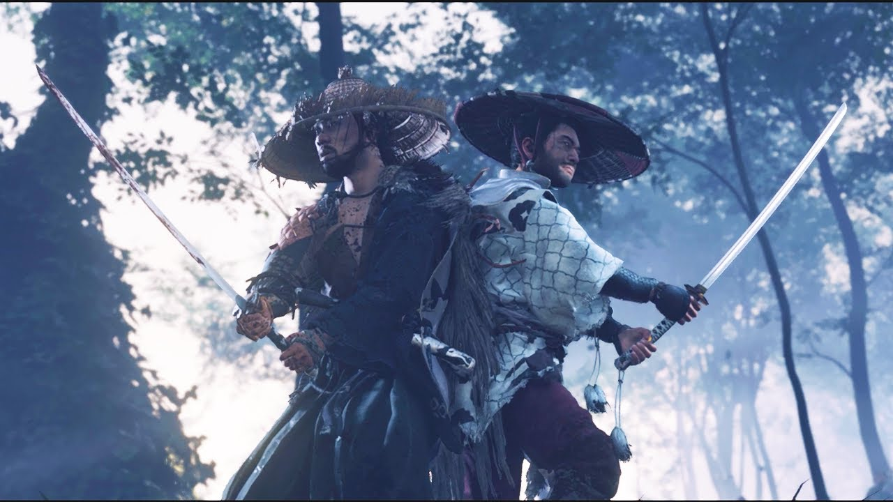 ghost of tsushima ryuzon and jin