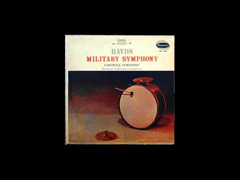 Haydn: Symphony No. 45 'Farewell', Hermann Scherchen, Vienna 1958