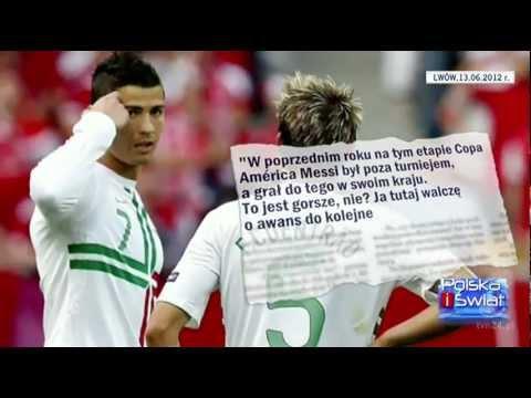 Cristiano Ronaldo W Polsce Euro