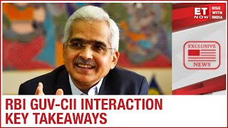 RBI Governor Shaktikanta Das interacts with CII Council | Key takeaways