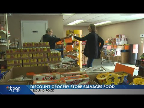 New salvage grocery store offers discounts