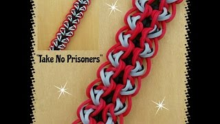 "New ""Take No Prisoners"" Hook Only Bracelet/ How To Tutorial"