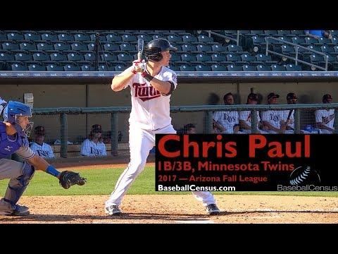 Chris Paul, 1B/3B, Minnesota Twins — 2017 Arizona Fall League
