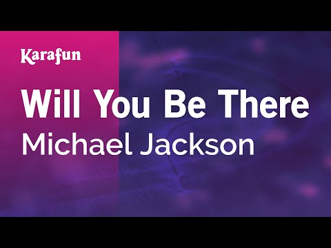 Karaoke Will You Be There - Michael Jackson *