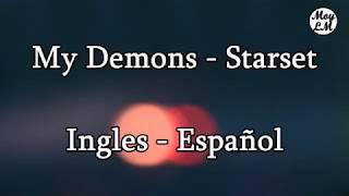 Gambar cover My Demons Starset Ingles - Español