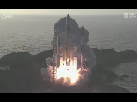 H-IIA Rocket Blasts off with final Member of Navigation Constellation