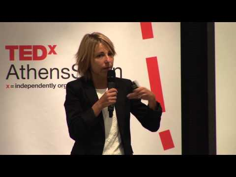 Networks of clusters of innovation: Itxaso del Palacio at TEDxAthensSalon 2013