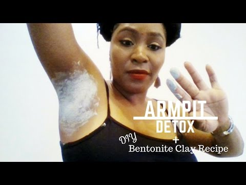 How to Detox Your Armpits | Bentonite Clay + ACV | Armpit Detox DIY For Stinky Pits | ZuZuNatural
