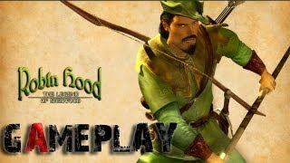 Robin Hood: The Legend of Sherwood Gameplay (PC/HD)