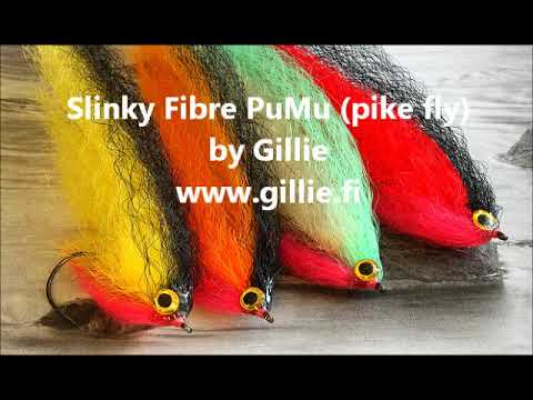 Pike fly tying