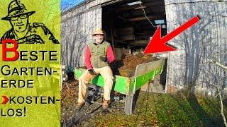 Die beste Gartenerde - kostenlos und torffrei