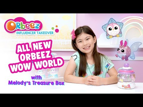 NEW COLOR CHANGE Orbeez Wow World with Melody's Treasure Box | Official Orbeez