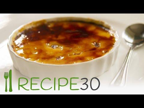 Creme brulee classic French Sexy Dessert Recipe