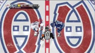 NHL 12 Gameplay Highlights XBOX 360 (Maple Leafs vs Canadiens) HD