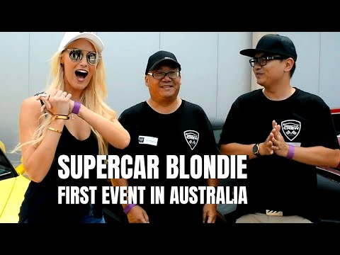 SUPERCAR BLONDIE in AUSTRALIA