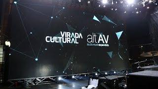 Palco VJ @ Virada Cultural 2016