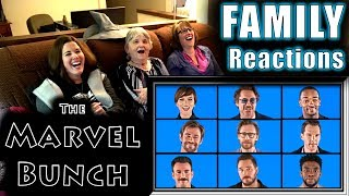The MARVEL BUNCH | FAMILY Reactions