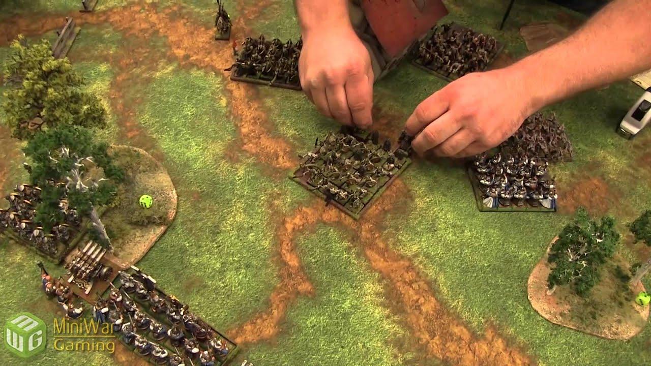 Dwarfs vs Vampire Counts Warhammer Fantasy Battle Report - Old World Wars Ep 11