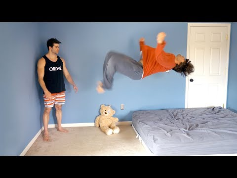 Teaching Billy to Backflip - Landed Under 5 Minutes!