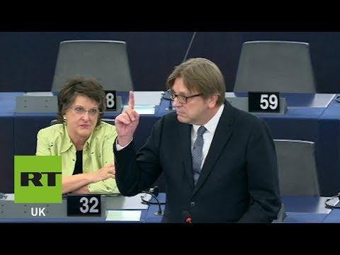 Verhoftstadt: Only Nigel Farage could save European Parliament