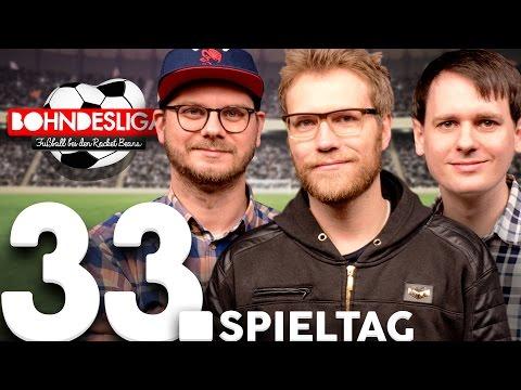 33. Spieltag der Bundesliga in der Analyse | Bohndesliga-Fußball bei RBTV