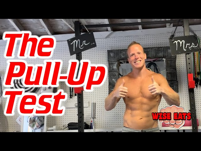 The Pull Up Test – Fitness CHALLENGE for Upper Body Strength & Endurance! (WesFitness.com)