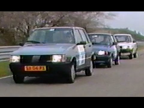 Comparison Test Automatic Cars Fiat Uno, Ford Fiesta, Volvo 340
